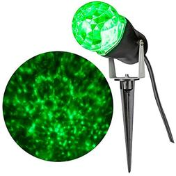 Gemmy Lightshow Projection Kaleidoscope Outdoor Yard Stake H