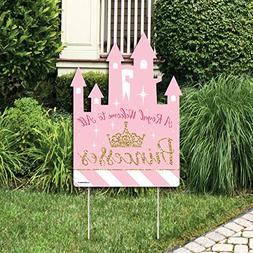 Big Dot of Happiness Little Princess Crown - Party Decoratio