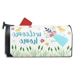 Magnetic Mailbox Cover - Spring Summer Floral Themed, Decora