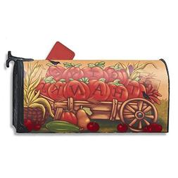 Magnetic Mailbox Cover - Fall Autumn Themed, Decorative Vint