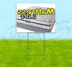 mattress sale 18x24 yard sign corrugated plastic