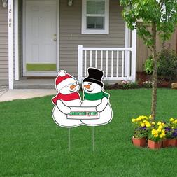"VictoryStore Yard Sign Outdoor Lawn Decorations -  21"" x 21"