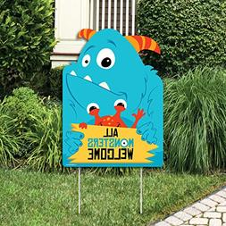 Big Dot of Happiness Monster Bash - Party Decorations - Litt