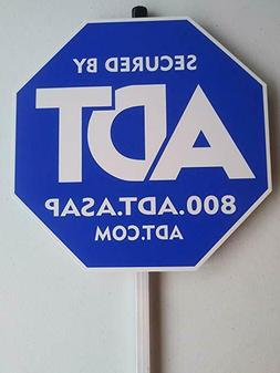 NEW ADT SECURITY ALARM YARD SIGN & NO STICKERS WATERPROOF &