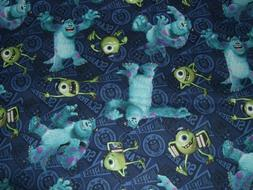 NEW  Monsters Inc University Movie Disney Mike & Sully cotto