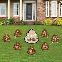 Oh Crap, You're Old! - Funny Yard Sign & Outdoor Lawn Decora