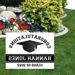 Personalized Class of 2020 Graduation Yard Sign