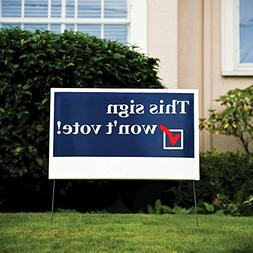 "BannerBuzz personalized Yard Signs 9"" x 12"" 
