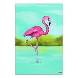Graphics and More Pink Flamingo in Water Home Business Offic