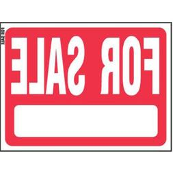 """Hy-Ko """"For Sale"""" Plastic Lawn Sign, 18"""" by 24"""", Red"""