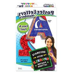 ArtSkills Poster Letters and Numbers, A-Z and 0-9, Assorted,