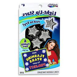 ArtSkills Poster Stars, 4 Flashing Stars with 5 LED Lights E