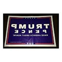 President Donald Trump & Mike Pence Yard Sign Polybag 2016