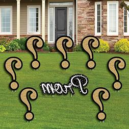 Big Dot of Happiness Promposal - Yard Sign & Outdoor Lawn De