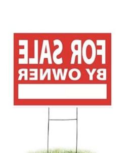 For Rent Yard Sign, 4mm Corrugated Coroplast 18 Inches x 24