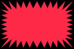 Retail Genius Price Burst 30 Red Sign Pack. Boost Sales with