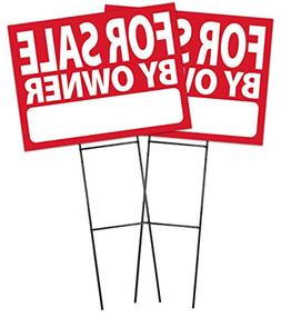 For Sale By Owner Sign Kit - 2 Pack