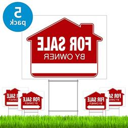 For Sale By Owner Yard Sign  – PRO Home For Sale Sign Kit