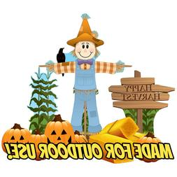 Advanced Graphics Scarecrow Theme Outdoor Yard Sign Set