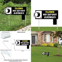 Big Dot Of Happiness Security System Yard Sign   Yard Sign W