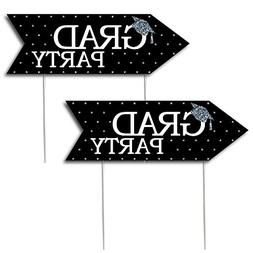 Silver - Tassel Worth The Hassle - Graduation Party Sign Arr