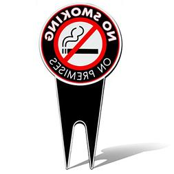 No Smoking Sign Yard Sign 7.5 X 15 Inches - Lawn Sign - All