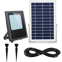 Solar Flood Lights Outdoor&Indoor 120Leds 1000Lumen Recharge