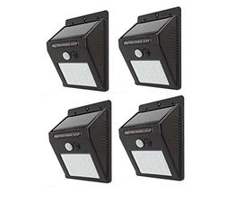 XIHAB Solar Wall Lights Outdoor 20Led Wireless 3 In 1Riangle