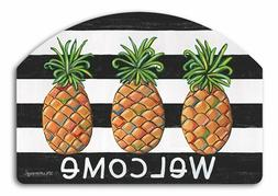 Studio M Southern Welcome Pineapples Decorative Address Mark
