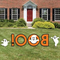 Big Dot of Happiness Spooky Ghost - Yard Sign Outdoor Lawn D