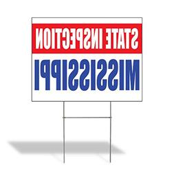 State Inspection Mississippi Outdoor Lawn Decoration Corruga