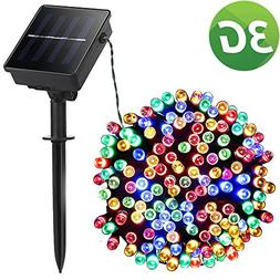 LED String Lights, Lellel 3nd Gen Solar Outdoor String Light
