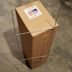 50 Sturdy Metal H Frame Wire Stakes for Yard Signs