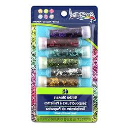 ArtSkills Tinsel Glitter Shakers, 6 Count