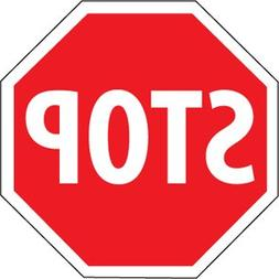 National Marker TM81J STOP Sign, 30 x 30 inch, .080 Reflecti