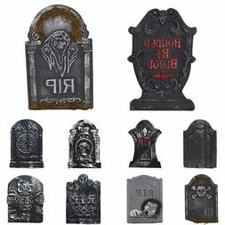 TOMBSTONES HALLOWEEN - YARD SIGN SET - BRAND NEW OUTDOOR PLA