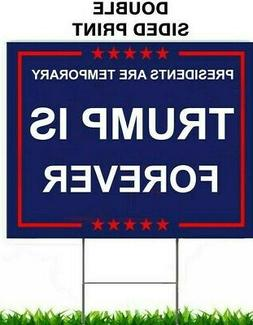 "TRUMP 2020 KEEP AMERICA GREAT 18""x24"" YARD SIGN WITH STAKE P"