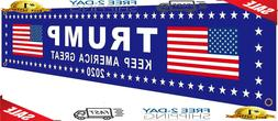 Trump Keep America Great 2020 Large Banners Outdoor Yard Sig