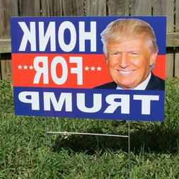 Trump Yard Sign w/Stake - Donald Trump 2020 - Double-Sided,