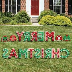 Big Dot of Happiness Ugly Sweater - Yard Sign Outdoor Lawn D