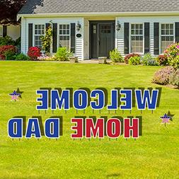 VictoryStore Yard Sign Outdoor Lawn Decorations - Welcome Ho