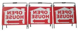 Vinyl PVC Real Estate Sign Yard Post Open House Signs by EZe