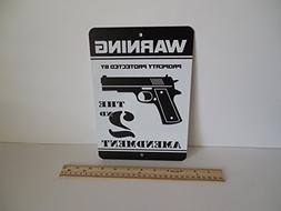 Warning Property Protected By 2nd Amendment Home Security Me