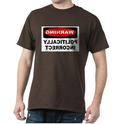 CafePress Warning Sign Yard Sign 1 100% Cotton T-Shirt