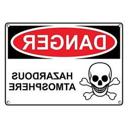 Weatherproof Plastic Danger Herbicide Sign with English Text