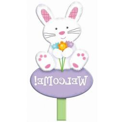 Welcome Bunny Rabbit Animal Easter Holiday Party Decoration