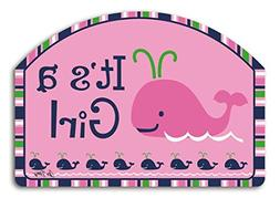 Studio M Whales - It's a Girl Yard DeSign