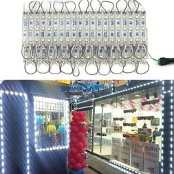 White 10~1000FT Store Front Window Sign Light Closet Cabinet