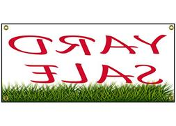 """Yard Sale Banner Retail Store Home Shop Business Sign 36"""" By"""