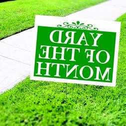 yard of the month plastic novelty indoor